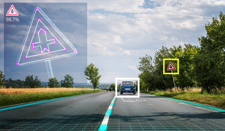 Computer Vision for Autonomous Driving: Keep an Eye on the Road